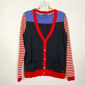 Tommy Hilfiger Color Block Cardigan